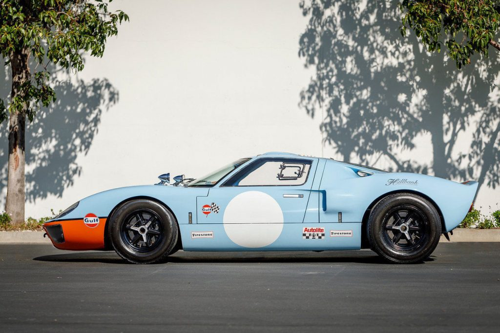 bored out engine 1966 Ford GT40 replica