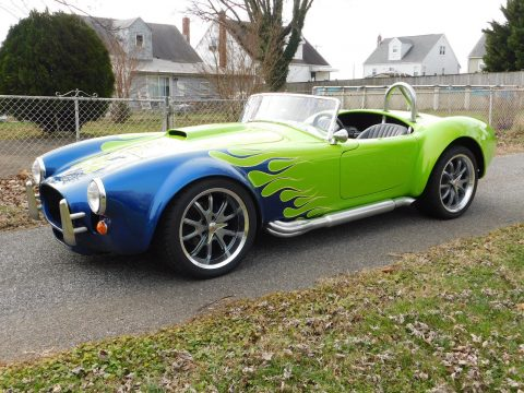 custom painted 1966 Shelby Cobra replica for sale