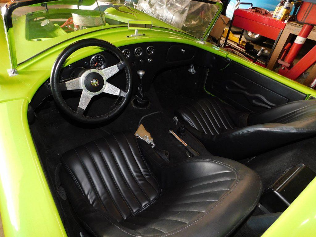 custom painted 1966 Shelby Cobra replica