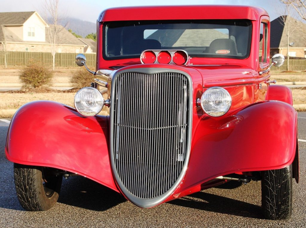 hot rod truck 1935 Ford Replica