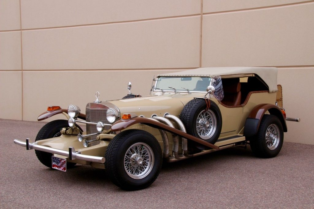 powerful 1974 Excalibur II Phaeton SS Replica