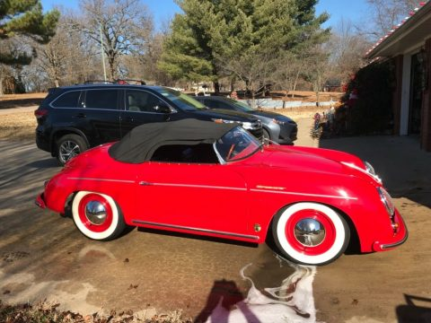 fast 1956 Porsche Speedster Replica for sale