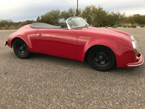 great looking 1957 Porsche 356 speedster Replica for sale