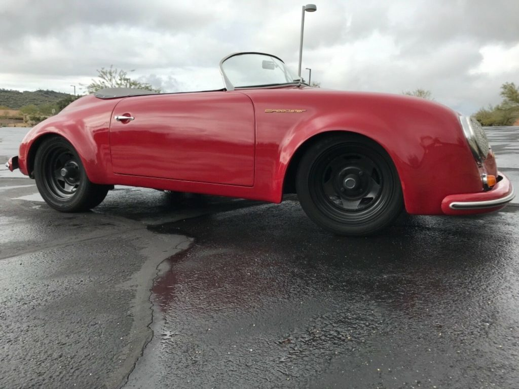 great looking 1957 Porsche 356 speedster Replica