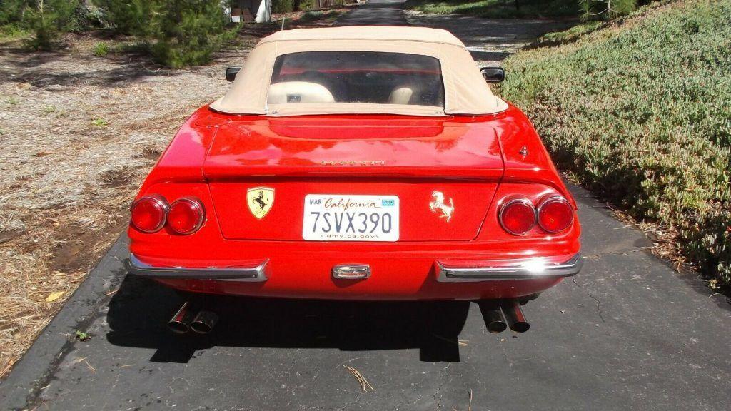 low miles 1973 Ferrari 365 Gts/4 Daytona Replica