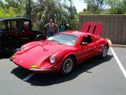 many modifications 1969 Ferrari 246 Dino Replica for sale