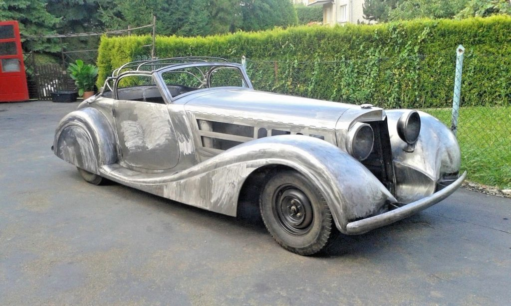 needs finishing 1939 Mercedes Benz 540K Cabriolet Replica