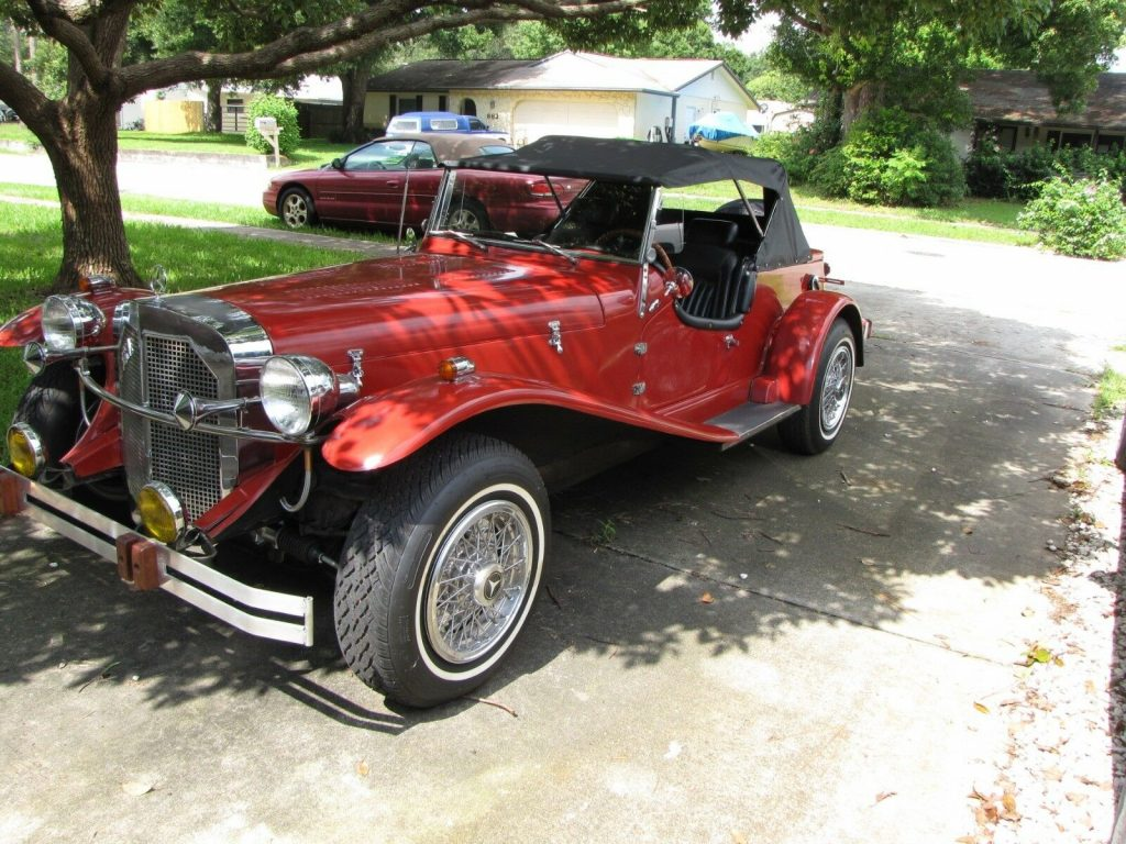well maintained 1929 Mercedes SSK Roadster Replica