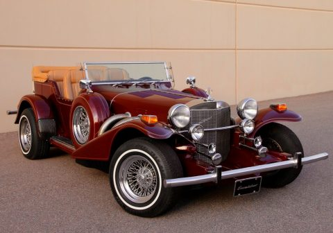 classic oldtimer 1979 Excalibur Phaeton Series III Replica for sale