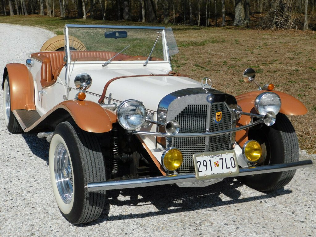 low mileage 1929 Mercedes Benz SSK Replica