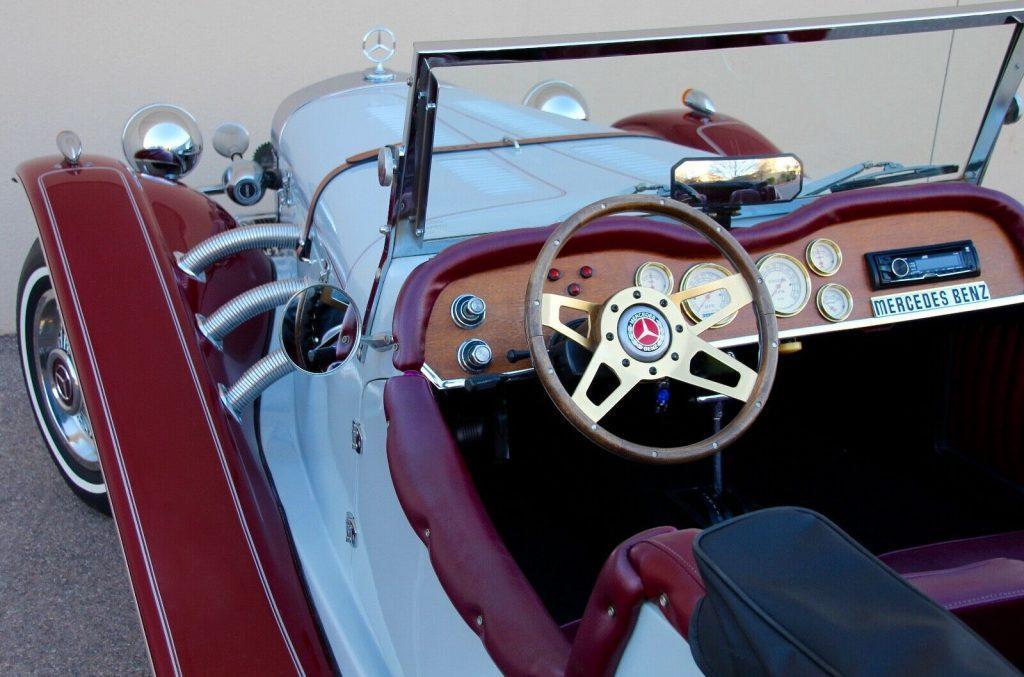 low miles 1929 Mercedes Benz SSK Gazelle Replica