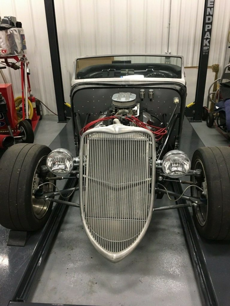 needs finishing 1933 Factory Five Hot Rod Replica