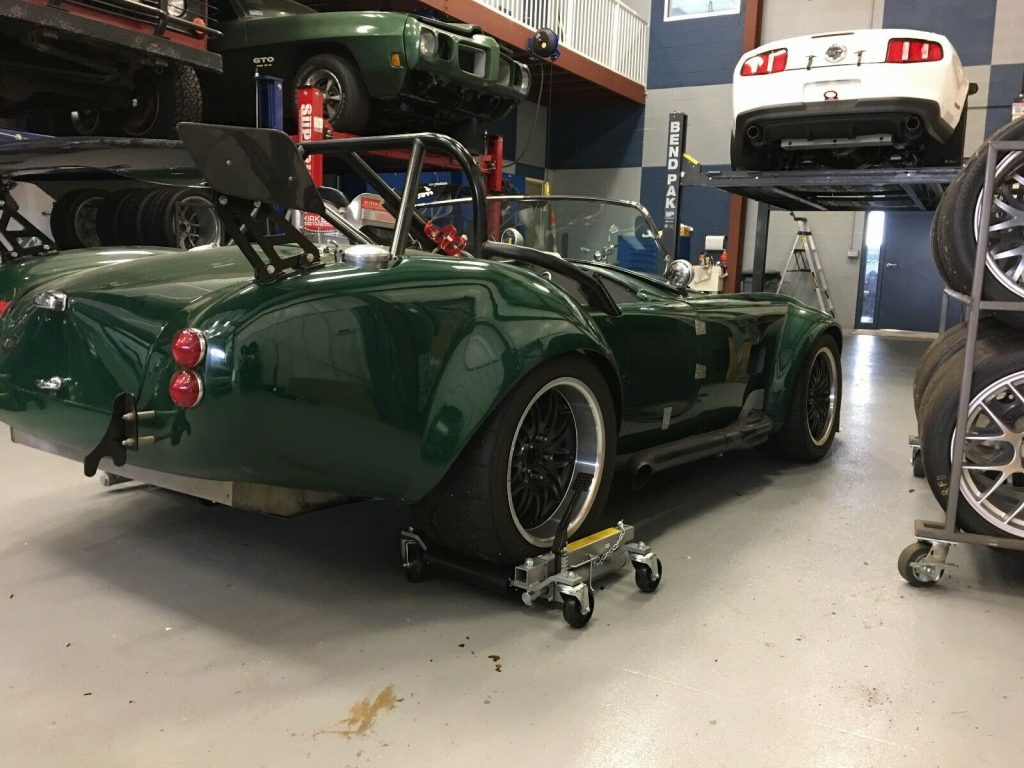 stroked engine 1965 Shelby Cobra Racing 427 replica