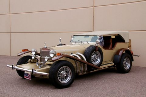very powerful 1974 Excalibur Phaeton SS Series II Replica for sale