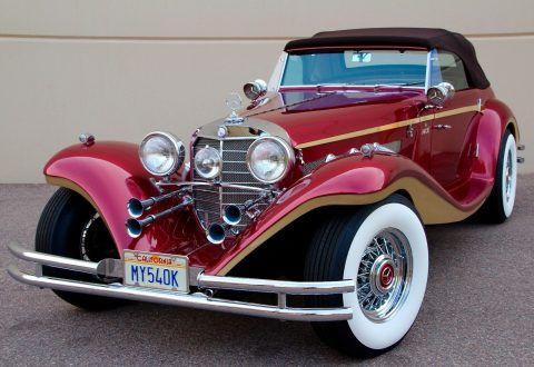 beautiful 1936 Mercedes Benz 540K Replica for sale
