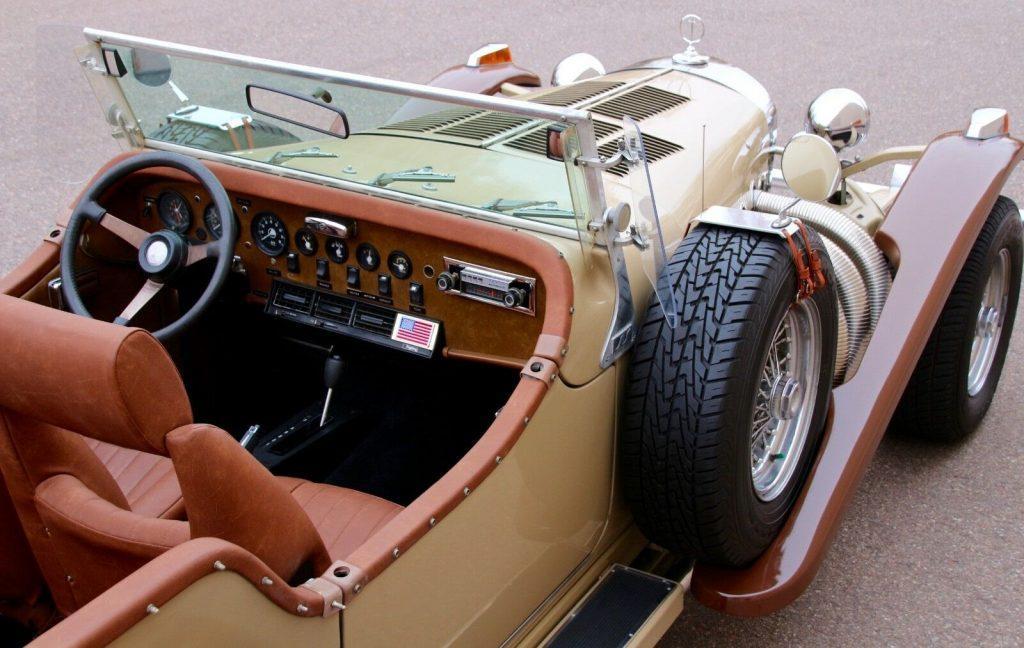 vintage look 1974 Excalibur Phaeton SS Series II Replica