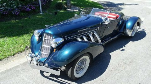 art deco 1980 Auburn Replica for sale