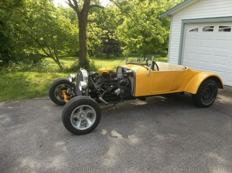 hot rod 1927 Ford Model T fiberglass replica for sale