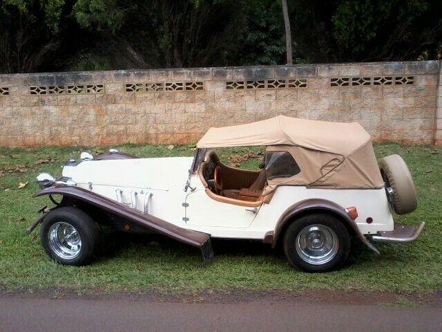 low miles 1980 Mercedes Gazelle Replica