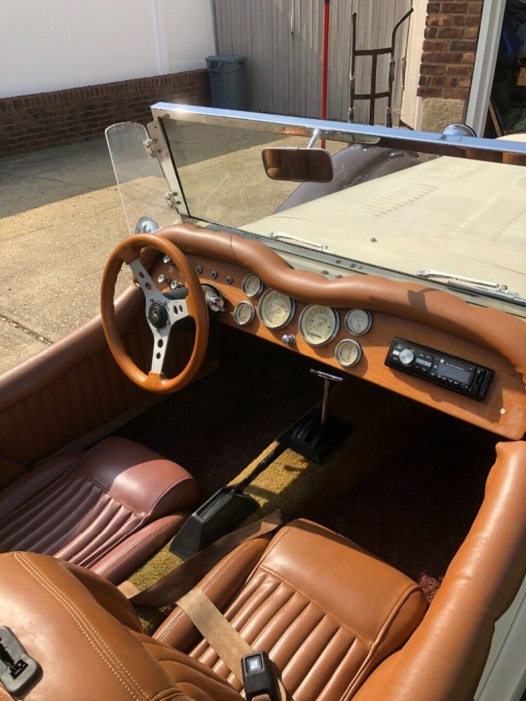 low miles 1987 Mercedes SSK Replica