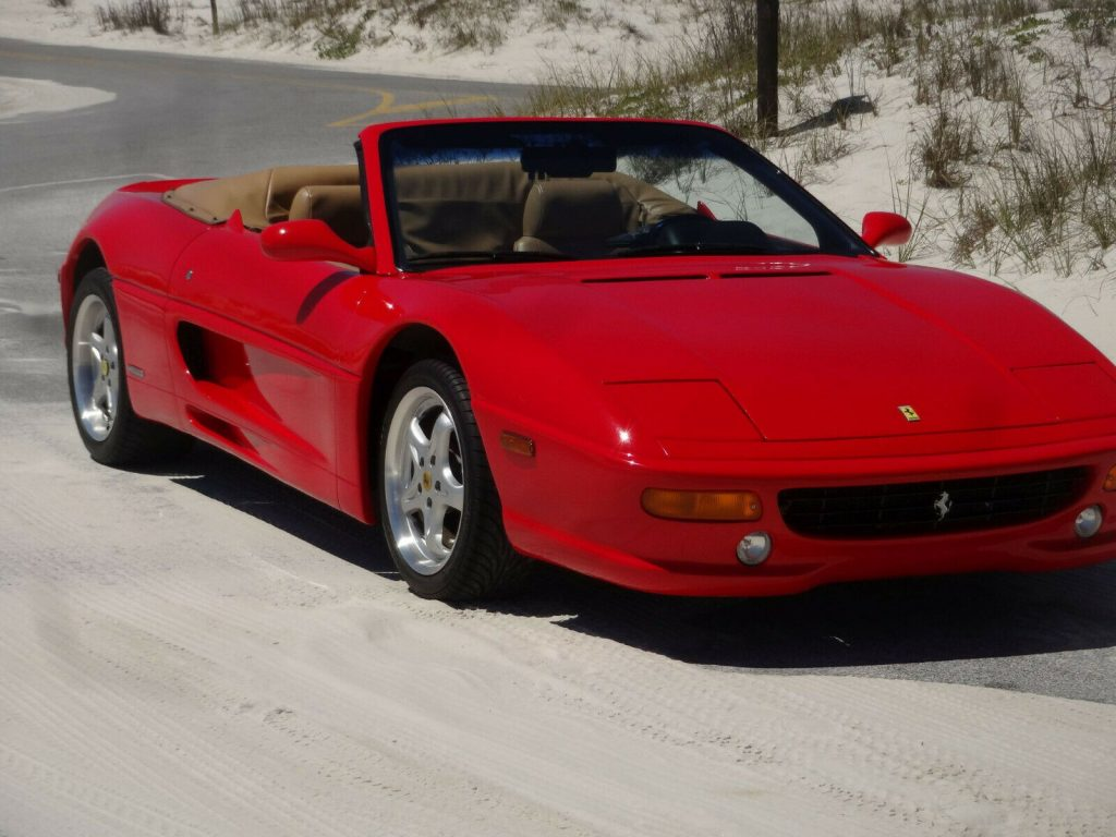 low miles 2001 Ferrari F355 Spider Replica