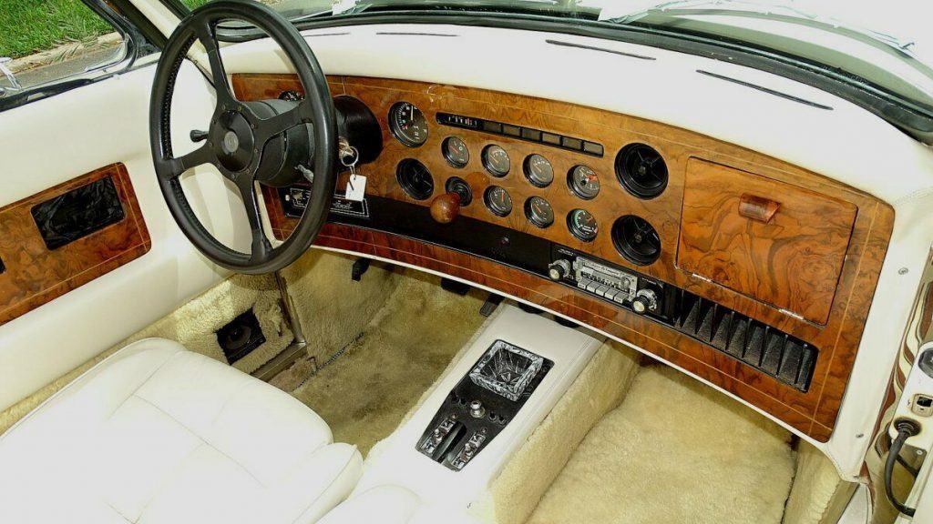 neo classic 1980 Clenet Series II Convertible Mercedes replica