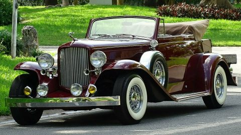 show stopper 1932 Cadillac Convertible Replica for sale