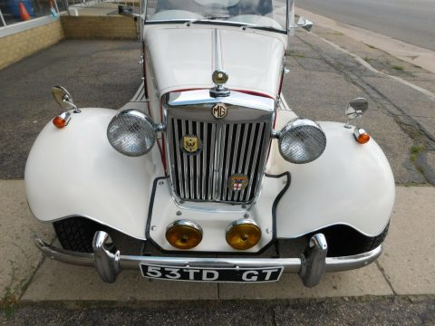 very cool 1952 MG TD Roadster Replica for sale