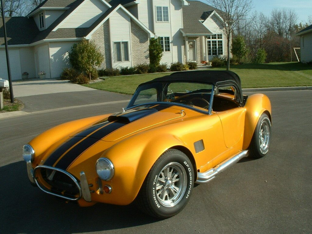 very nice 1965 Shelby Cobra MKII Roadster replica