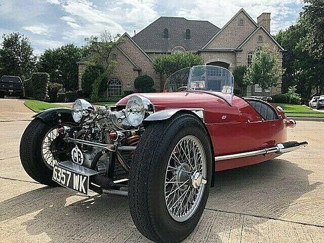 beautiful 1980 1933 Morgan JZR replica
