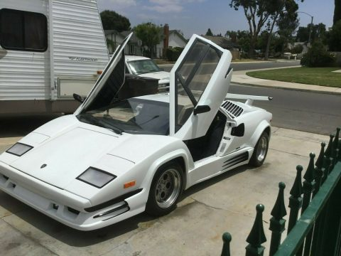 beautiful 1989 Lamborghini Countach Replica for sale