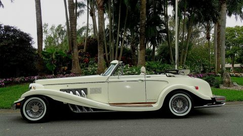 classic 1980 Clenet Series II Convertible Mercedes replica for sale