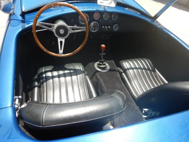 Ford powered 1965 AC Cobra Replica