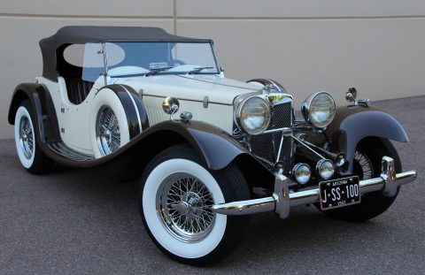 great driver 1937 Jaguar SS 100 Replica for sale