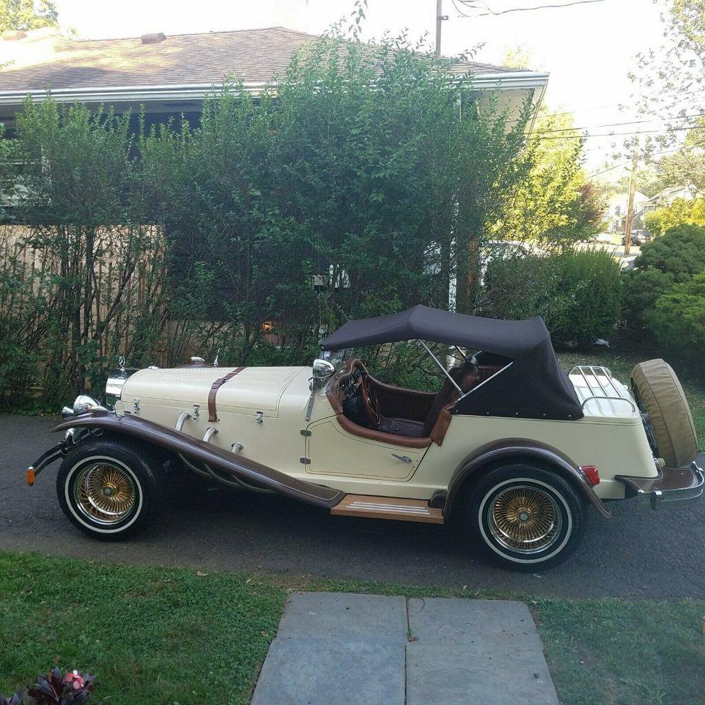 gret shape 1929 Mercedes Benz Replica