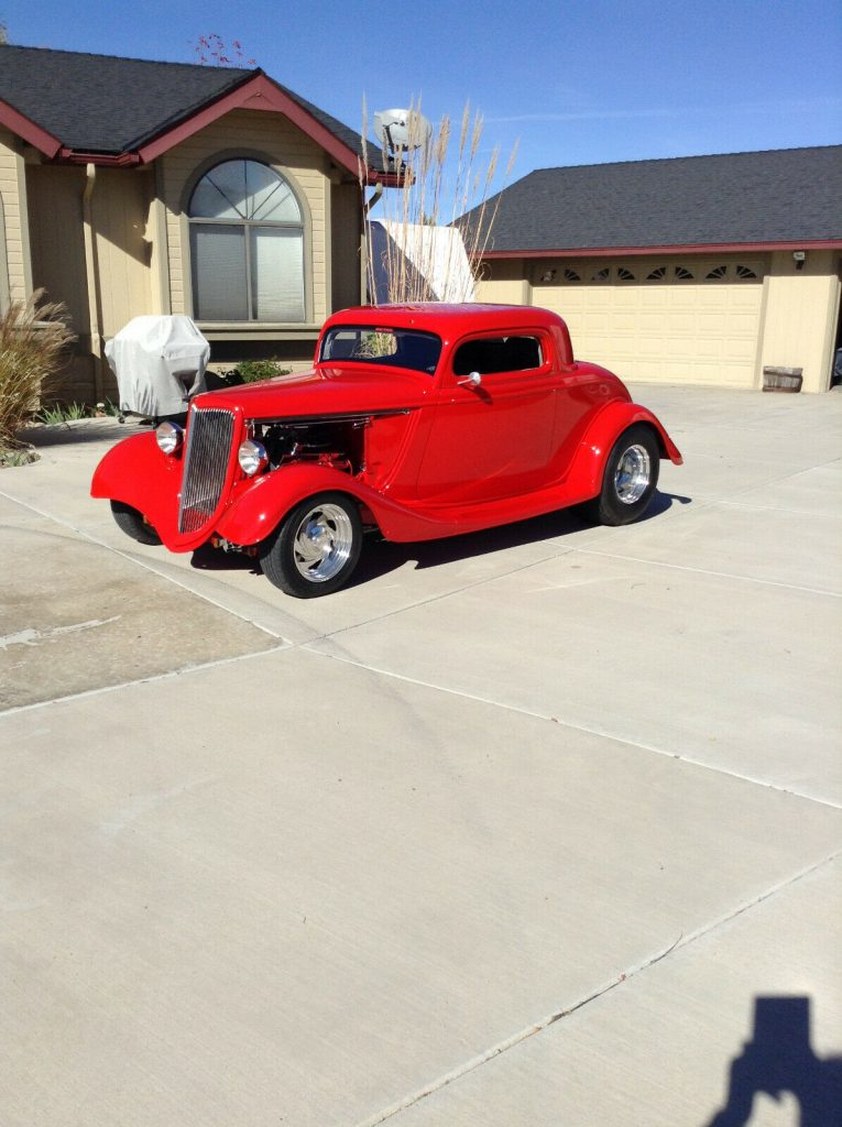 low miles 1934 Ford Coupe Replica