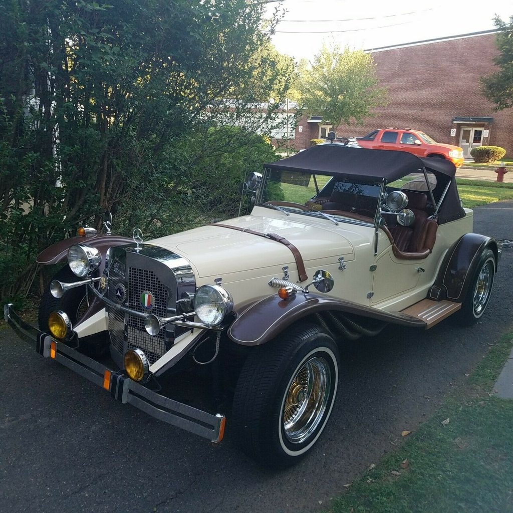 Perfectly Running 1929 Mercedes Benz Gazelle Replica For Sale