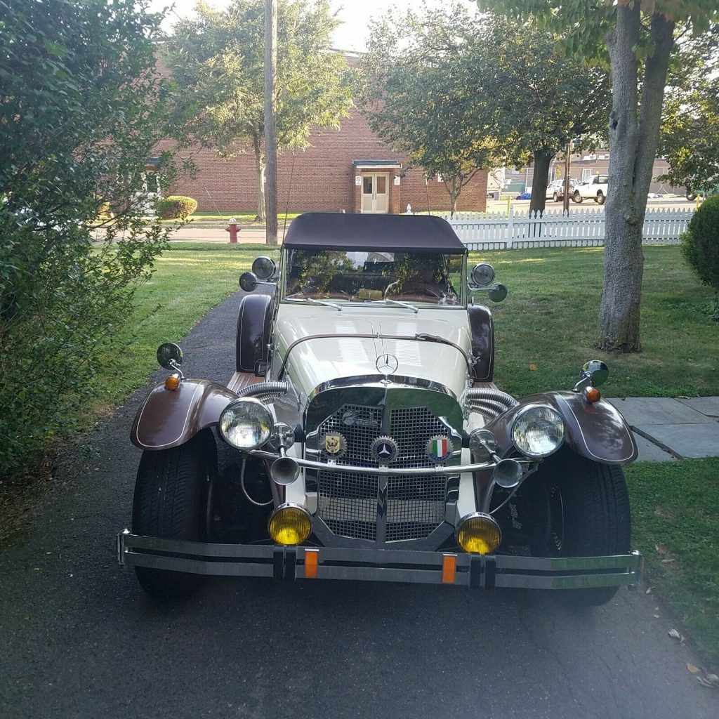 perfectly running 1929 Mercedes Benz Gazelle Replica