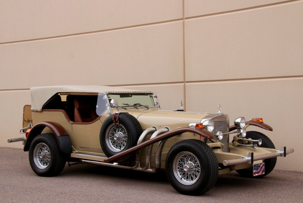powerful 1974 Excalibur Phaeton SS Replica