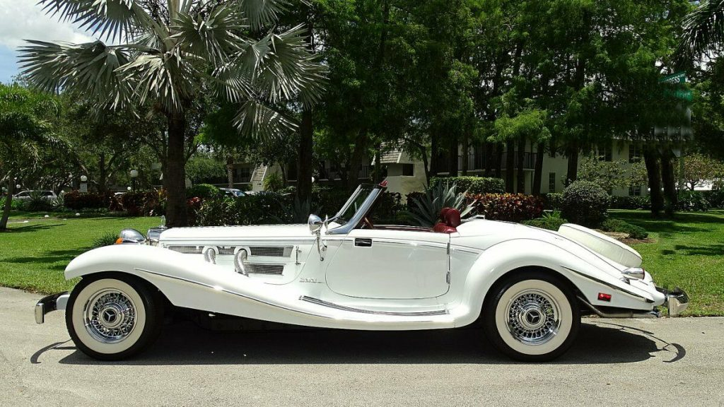 shiny 1934 Mercedes BENZ 500K Replica