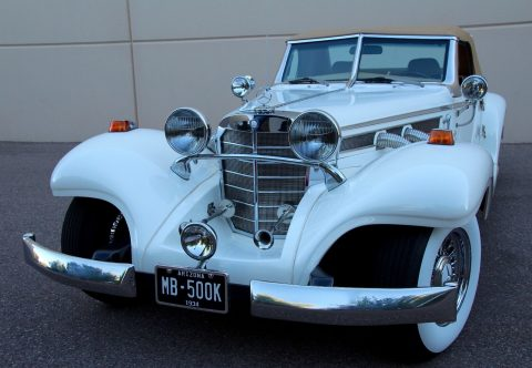 spectacular 1935 Mercedes Benz 540K Replica for sale