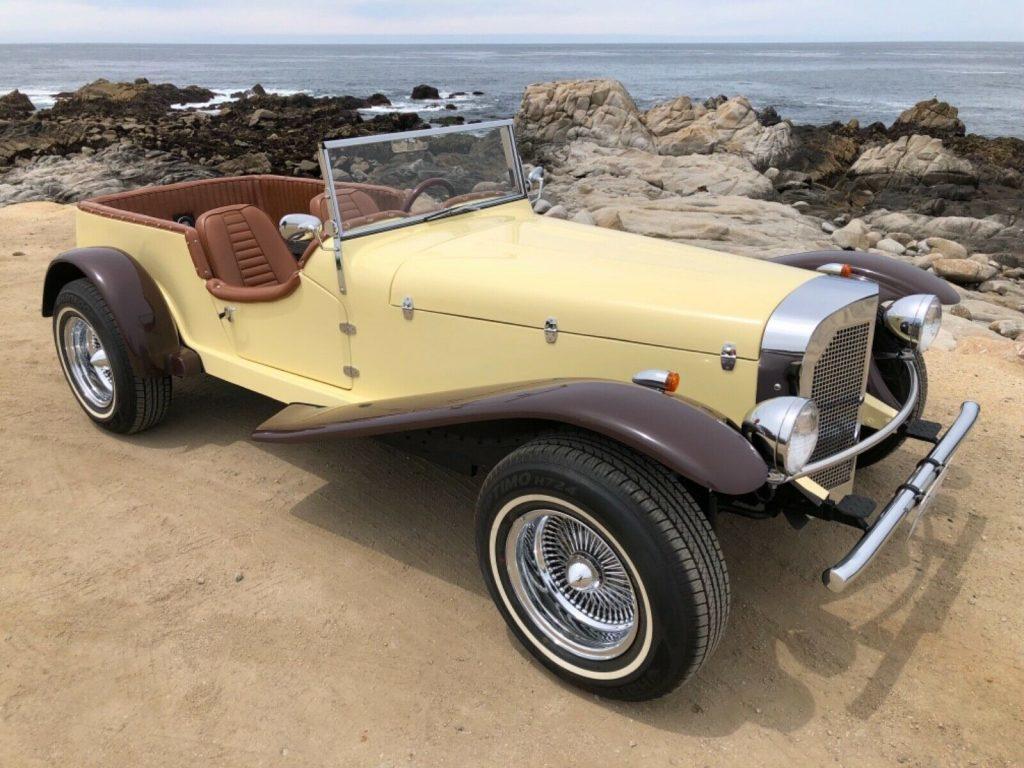 sporty 1929 Mercedes Gazelle replica