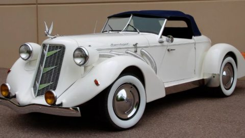rare 1936 Auburn Speedster Cord Boat Tail replica for sale