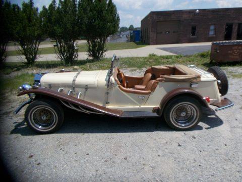 decent shape 1929 Mercedes replica for sale