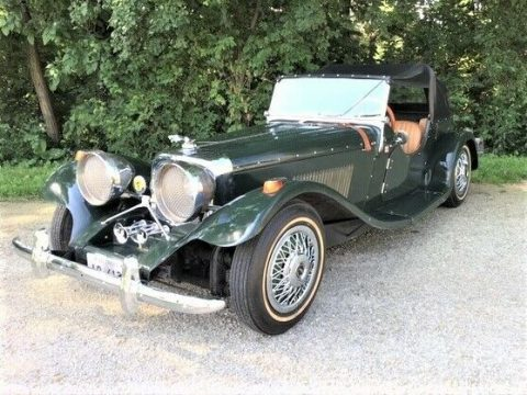 Great shape 1937 Jaguar Ss100 Convertible Replica for sale