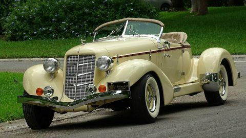 rare build 1936 Auburn Speedster Replica for sale