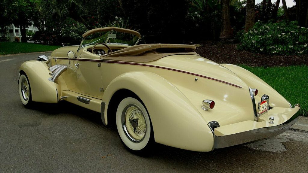 rare build 1936 Auburn Speedster Replica