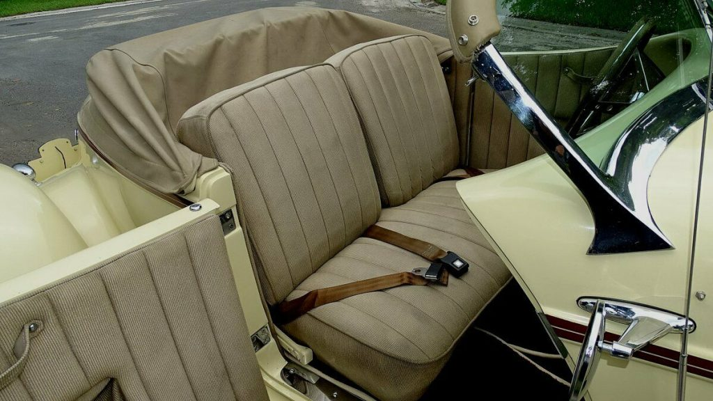 rare build 1936 Auburn Speedster Replica