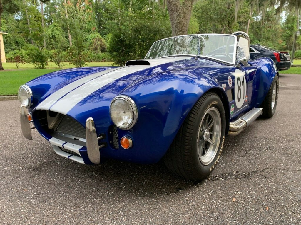 well built 1965 Shelby Cobra Roadster Replica