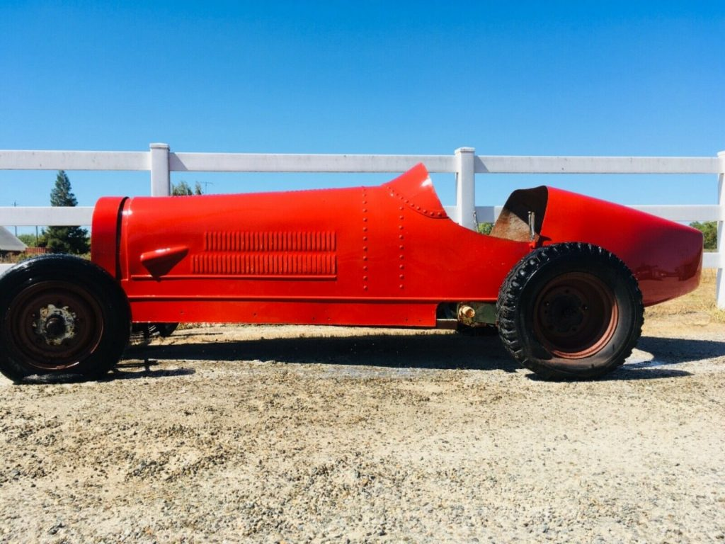 project 1927 Bugatti Type 35 Replica